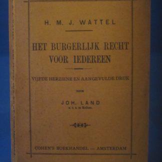 Het burgerlijk recht voor iedereen