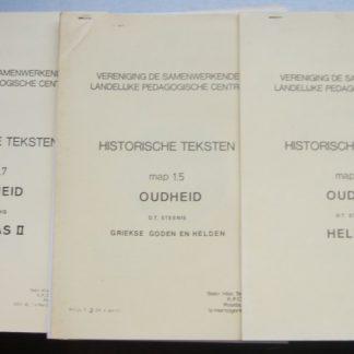 Vereniging de samenwerkende landelijke pedagogische centra. Historische teksten Map 1.5