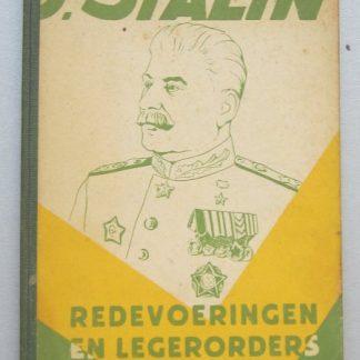 J.Stalin redevoering en legerorders in de periode 1941-1945