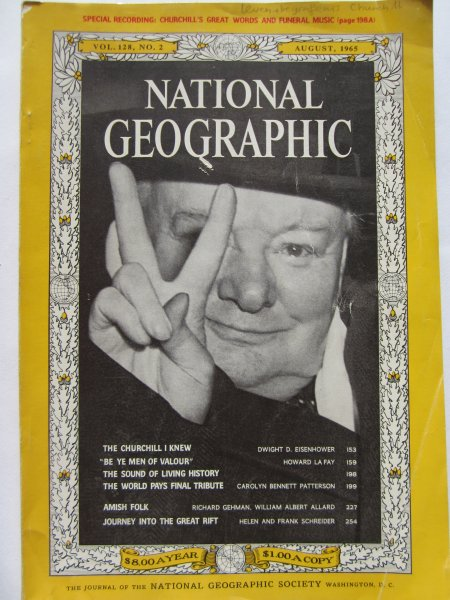 National Geographic. Vol 128. No 2.aug. 1965 Churchill