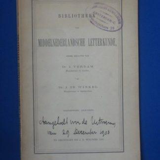 Bibliotheek van Middelnederlandsche letterkunde