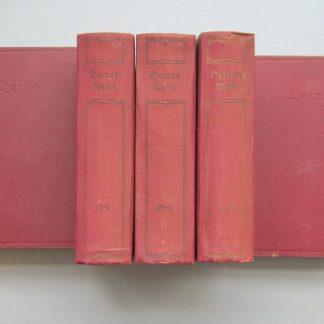 Heinrich Heine sämmtliche werke in zwöl teile