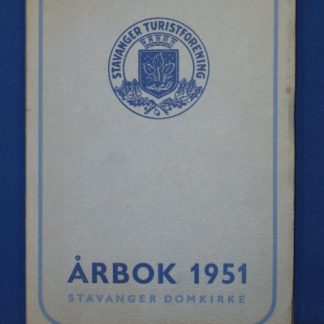 Arbok 1951. Stavanger Turistforenings