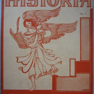 HISTORIA MAANDSCHRIFT VOOR GESCHIEDENIS 1935