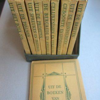 Uit den Bijbel. 10 kleine boekjes in cassette