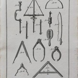 Dennis Diderot & Jean le Rond d'Alembert - Encyclopédie ou dictionnaire raisonné des sciences, des arts et des métiers - Marbrerie - kopergravure