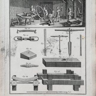 Dennis Diderot & Jean le Rond d'Alembert - Encyclopédie ou dictionnaire raisonné des sciences, des arts et des métiers - Charron - kopervragure