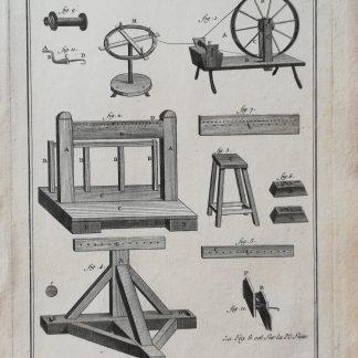 Dennis Diderot & Jean le Rond d'Alembert - Encyclopédie ou dictionnaire raisonné des sciences, des arts et des métiers - Lacets - kopervragure
